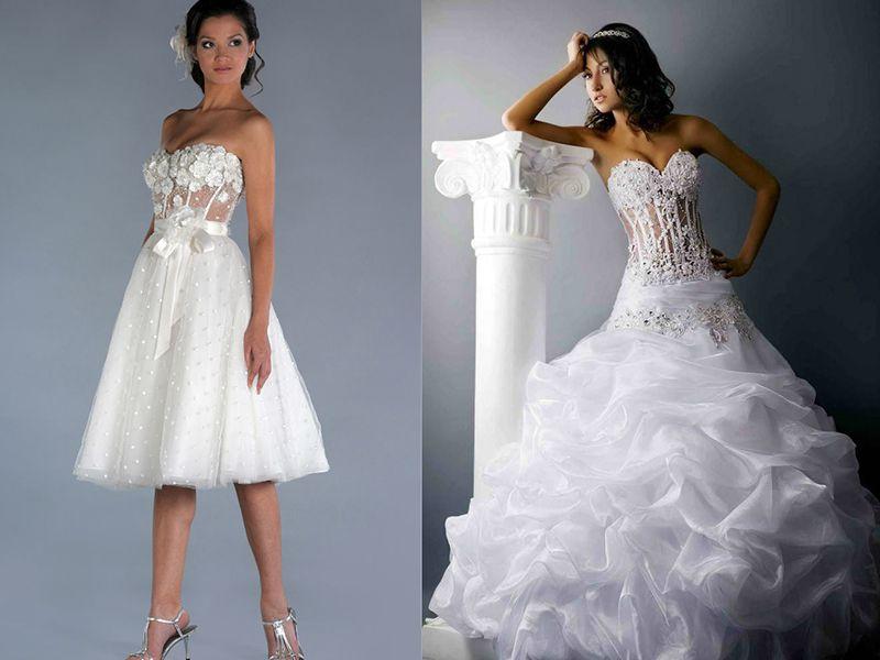 девушки в белом платье
