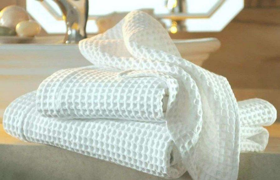 Как отбелить полотенца для кухни в домашних условиях