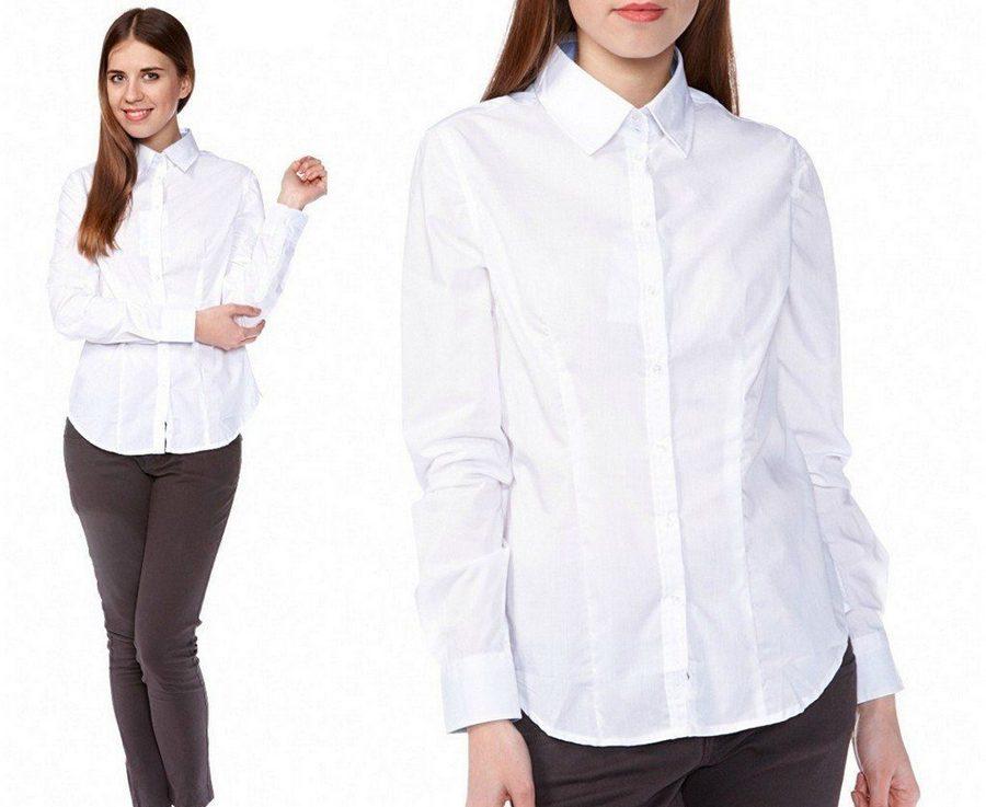 ддеввушка в белой рубашке
