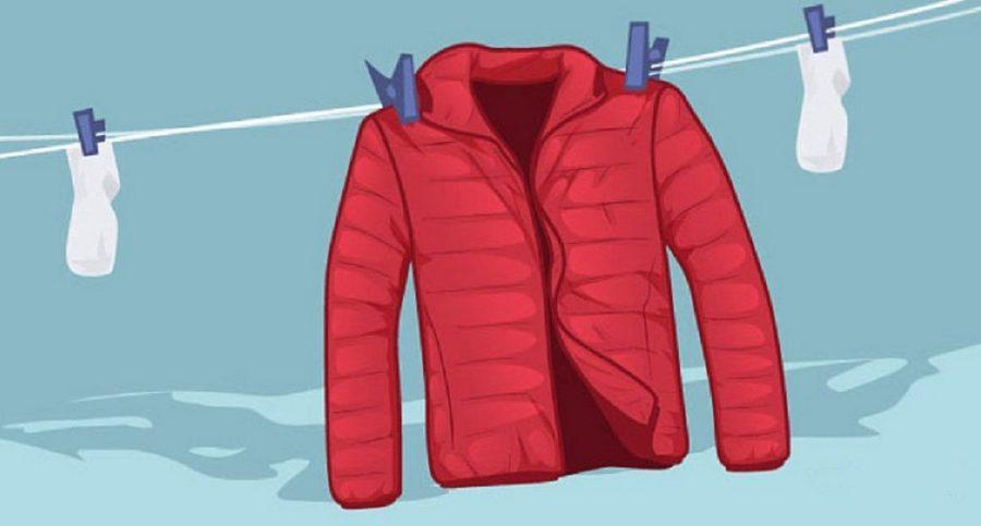 куртка на сушке