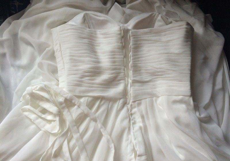 Как постирать дома свадебное платье