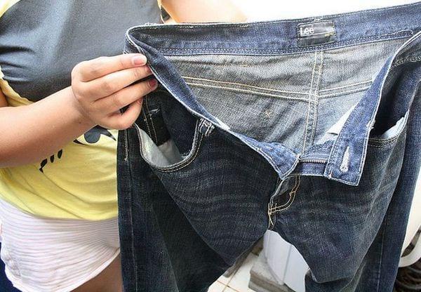 стирка джинсы