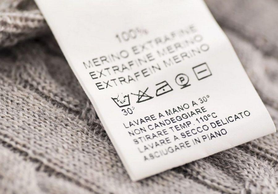 ярлык одежды