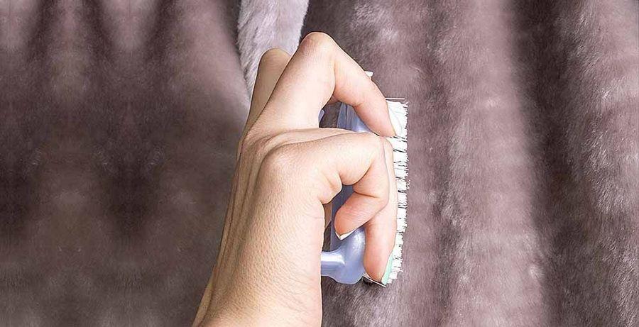 чистка шубы