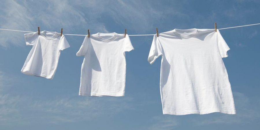 Одежда на сушке