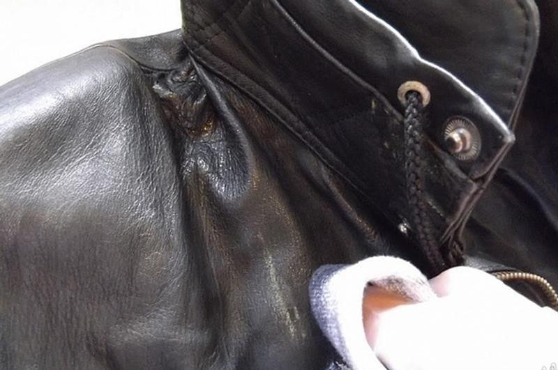 Стираем и чистим кожаную куртку
