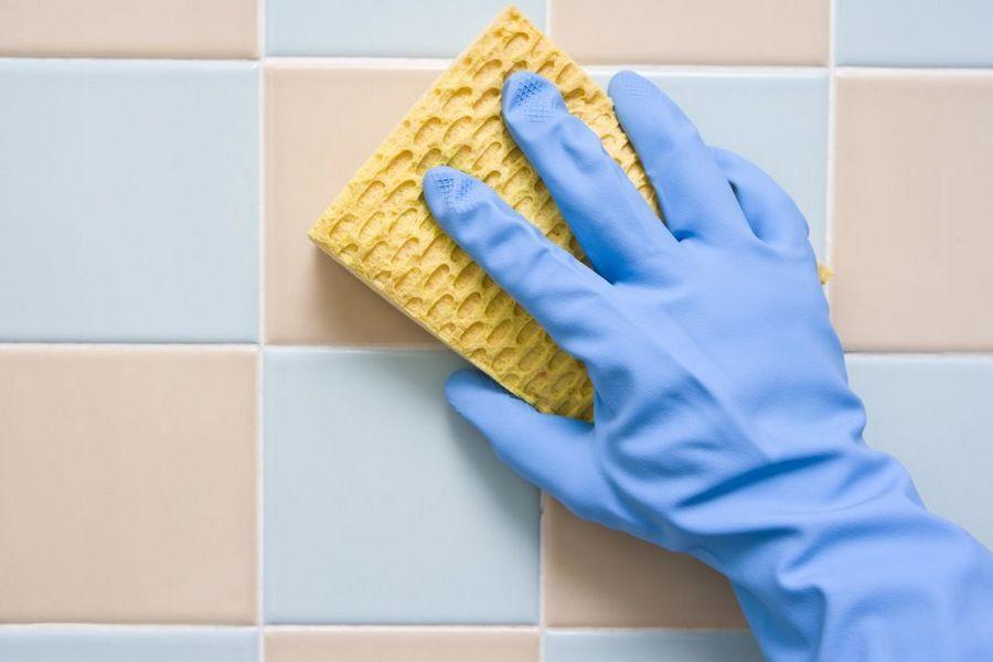 чистка плитки