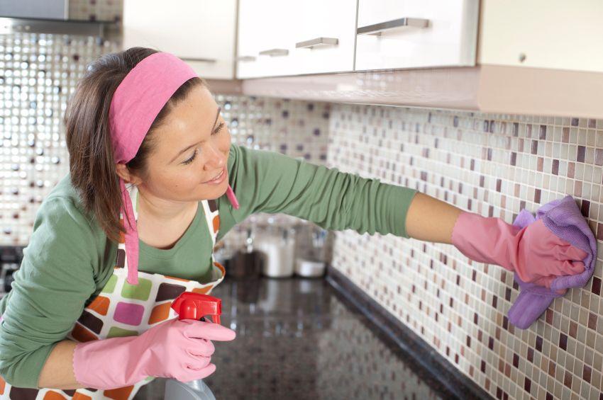 чистка и уборка на кухне