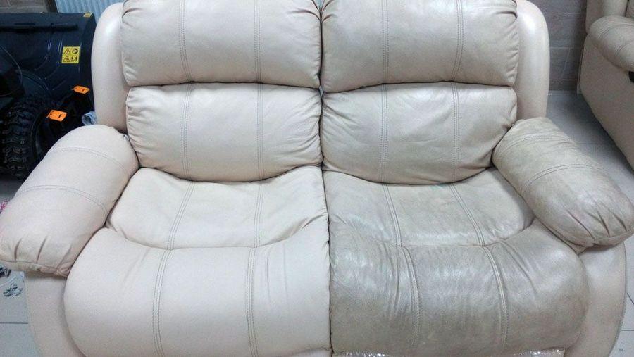 Очищаем кожаную мебель от различных загрязнений
