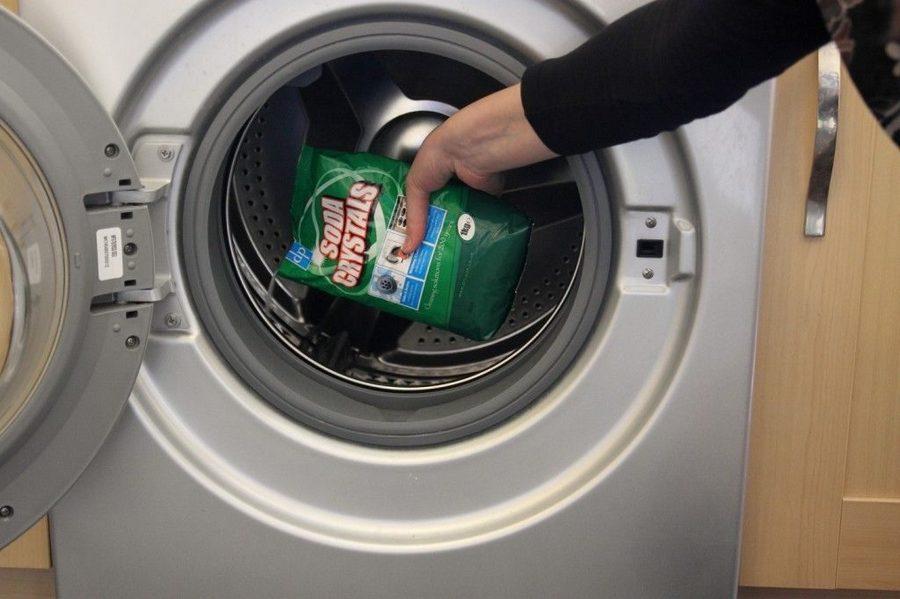 Удаляем плесень с резины в стиральной машине