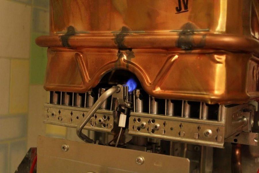 теплообменник газовой колонки