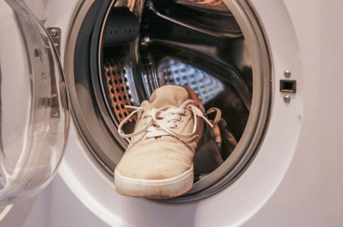 Обувь в машинке