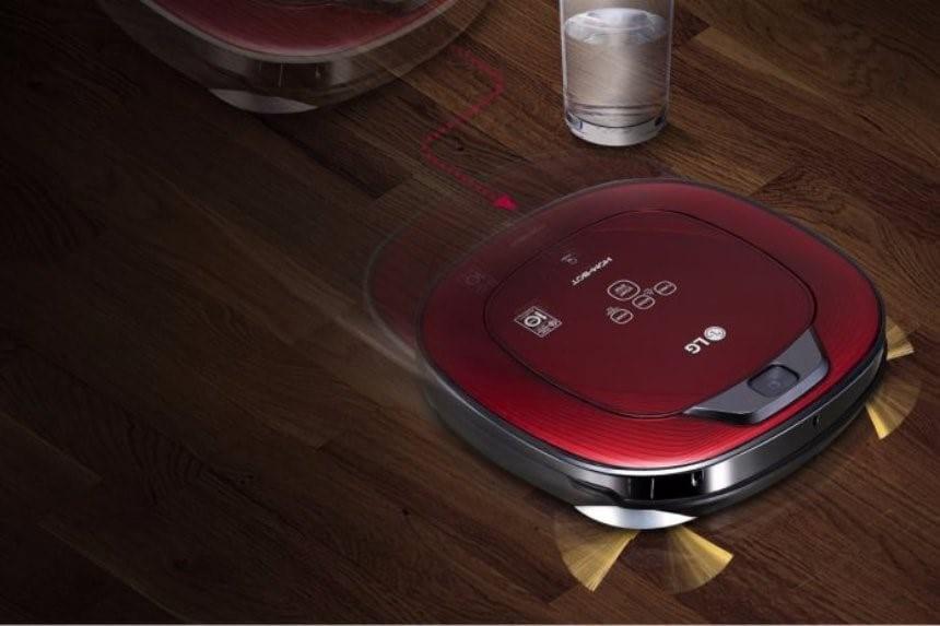 Уборка будущего при помощи робота пылесоса