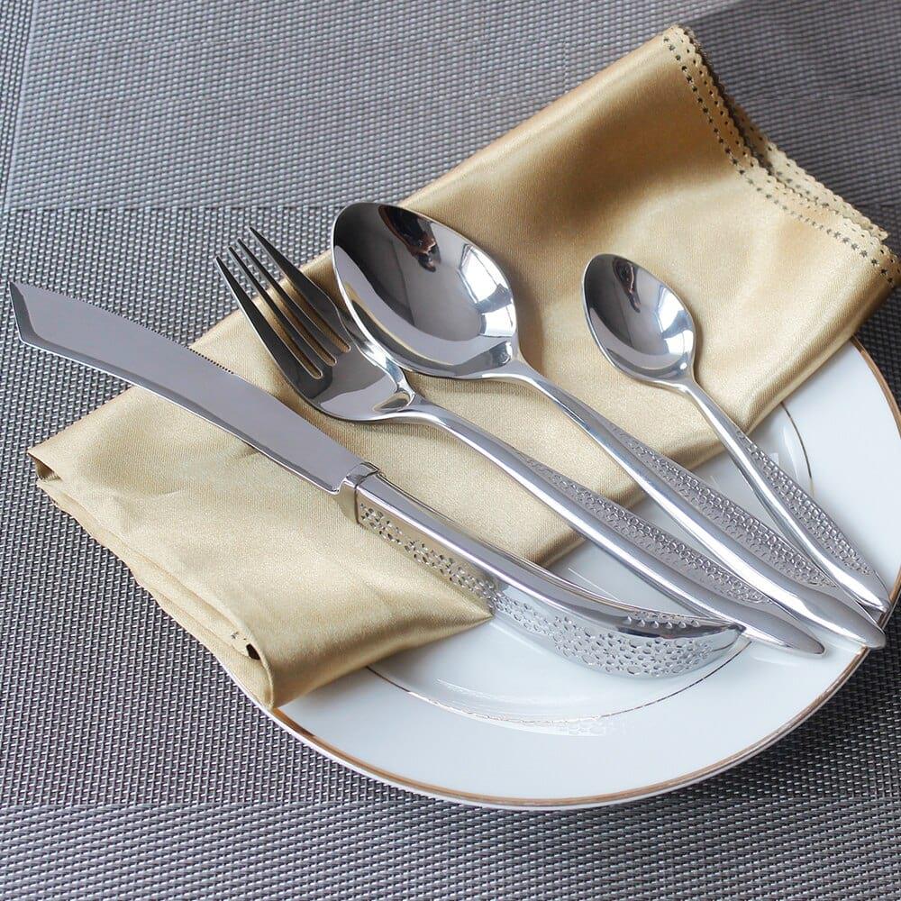 Как очистить ложки, вилки и ножи